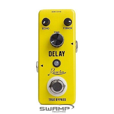 Rowin LEF-314 - Mini Guitar Analogue Delay Pedal
