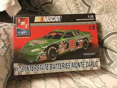 AMT 1/25 Scale Interstate Batteries Monte Carlo NASCAR Model Kit