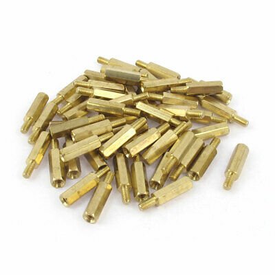 50 15mm Brass standoff PCB board spacing male female 50 bolts 50 nut 100washer