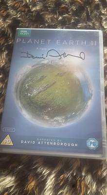 Sir David Attenborough Signed Bbc Dvd Planet Earth 2 Ii W Coa Ideal Gift