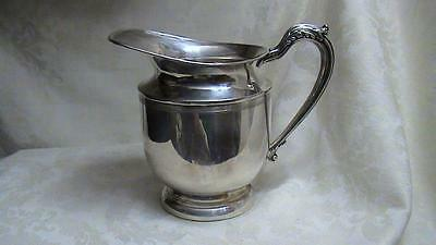 Vintage MRR English Silver Water Pitcher Made In USA 95