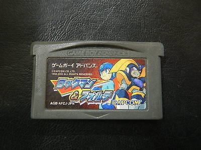 Rockman and Forte GameBoyAdvance JP GAME.