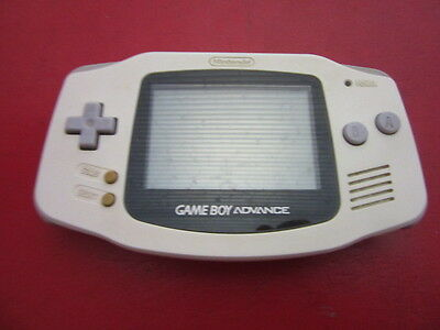 Gameboy Advance White Console JP GAME.