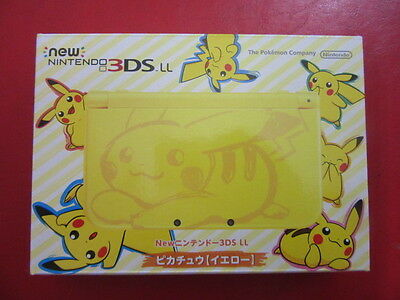 New Nintendo 3DSLL main body Pikachu yellow Console JP GAME.