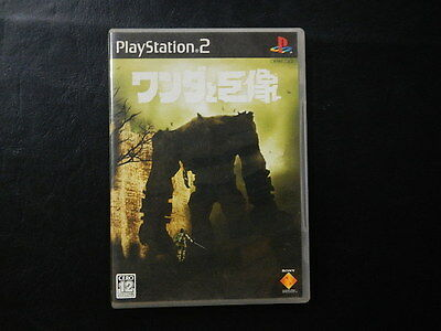Wander and The Colossus PlayStation2 JP GAME.