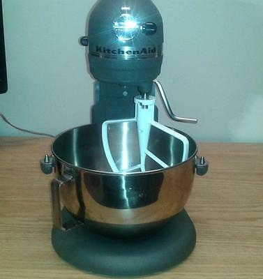 Kitchen Aid Professional 5 Plus  HD 450 Watt Lift Mixer Gray Ex Condition USA