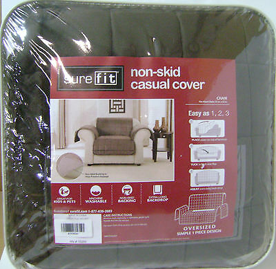Sure Fit Non-Slip Chair Protecting Pet Cover Chocolate $85