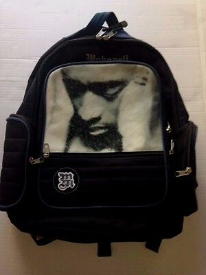 RARE! Tupac 2Pac MAKAVELI Backpack Book Bag Papa'z Song image