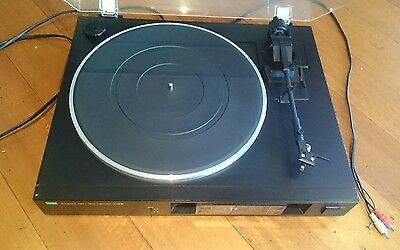 Sansui P-D10 Direct Drive Turntable Record Player Ortofon Cartridge Fitted