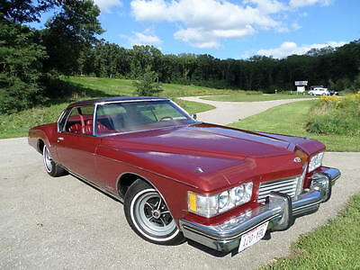 1973 Buick Riviera Base Hardtop 2-Door BEAUTIFUL BURGUNDY 1973 BUICK RIVIERA!!