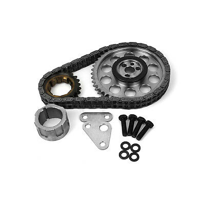 Chevy GM LS1 LS2 LS6 Double Roller 9 Keyway Billet Steel Timing Chain Kit