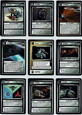Star Trek Ccg Tournament Deck, Set Of 20 Limited Cards