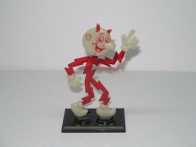Vintage 1961 Reddy Kilowatt Business Card Holder Desk Display Figure