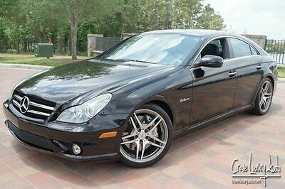 2011 Mercedes-Benz CLS-Class Base Sedan 4-Door Mercedes Benz CLS63 AMG loaded leather V8 Crave Luxury Auto 281-651-2101