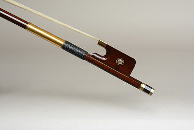 Special offer! Top model! A heavy snakewood cello bow !wood repaired