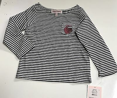 New Juicy Couture Infant/baby Girl T-Shirt Top – Size 18-24M