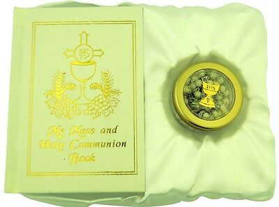 My Mass and Holy Communion Missal and Rosary First Communion Gift Set for Girls