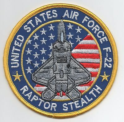 US Air Force F-22 Raptor Stealth patch