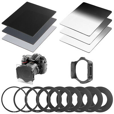 Neewer Complete Square Neutral Density ND Filter Kit for Cokin P Series