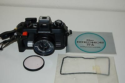 Nikon Nikonos IVa Vintage Japanese SLR Underwater Camera. New Seal. UK Sale