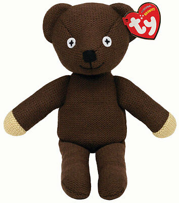 Mr Bean's Teddy official Beanie soft toy collectable by Ty - 25cm - 46179