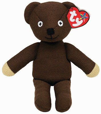 Mr Bean's Teddy Beanie Buddy large soft toy collectable by Ty - 38cm - 96310