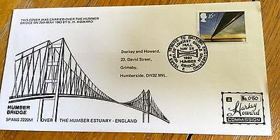 First Day Cover Humber Bridge Special Cover Limited Edition