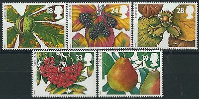 k124) Great Britain. MNH. 1993. SG 1779 to 1783. Seasons. Autumn.
