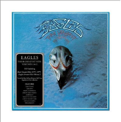 Eagles - Their Greatest Hits Volumes 1 & 2 (NEW 2 x CD)