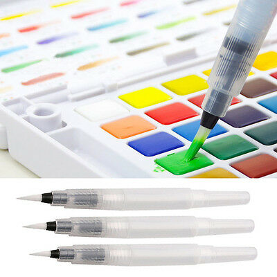 Fountain Pen Solid Watercolor Painting Soft Brush Pen for Water Tool Set