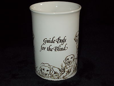 "Dunoon Ceramics ""guide Dogs For The Blind""  Commissioned Mug"