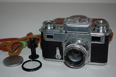 Zeiss Ikon Contax-III Rangefinder Camera & Case. Serviced. 1936. B59910. UK Sale