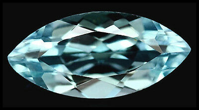 BUY IT NOW!!! GLORIOUS VVS NATURAL 3.28ct SKY BLUE BRAZIL TOPAZ MARQUISE FACET