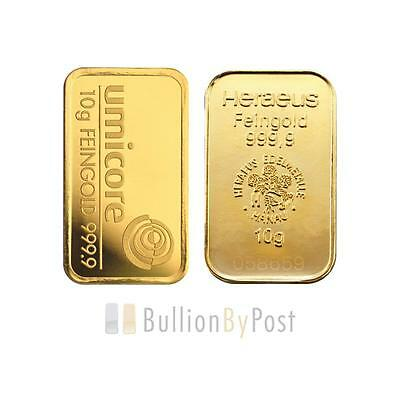 10 Gram Gold Bar Best Value