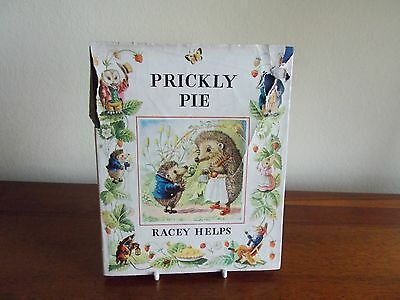 """1957 1st EDITION """"PRICKLY PIE"""" by RACEY HELPS - ILLUSTRATED - H/B & D/J - VG CON"""