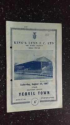 Kings Lynn V Yeovil Town 1967-68