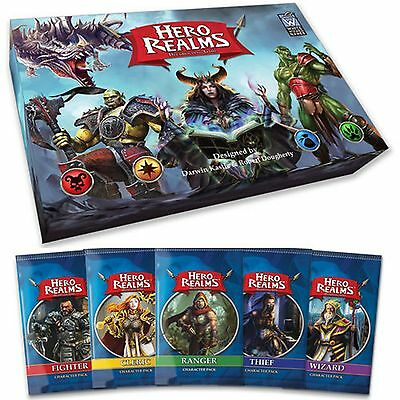 Hero Realms Card Game Complete Set
