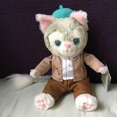 "HKDL Hong Kong Disney Plush 2017 Valentines Gelatoni Plush 9"" Duffy Shelliemay"