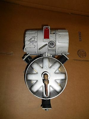 Bailey Bc1261131 Pressure Transmitter, Series 10, 12-42 Vdc, 4-20 Ma, Used