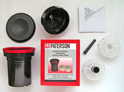 """Paterson """"universal"""" Film Developing Tank (With 2 Reels)  """"new Stock"""""""