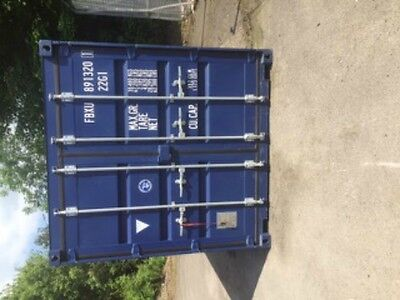 RENT HIRE 20ft SHIPPING CONTAINER BLUE ***SECURE, DRY STORAGE***