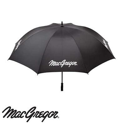 "MacGregor Golf Umbrella 66"" Single Canopy Black Golf Brolley New"
