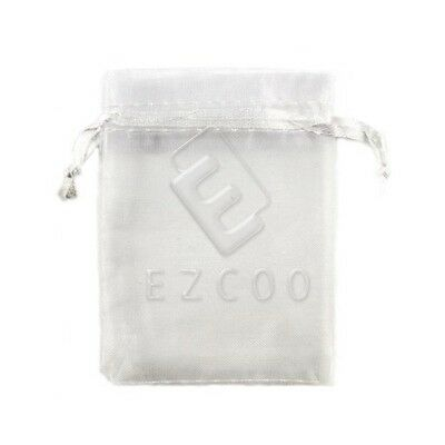 25pcs 7x9cm White ORGANZA XMAS GIFT BAGS Wedding Party Jewellery Candy Pouches