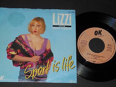 "Vinyl Single 7"" LIZZI Sport Is Life aus 1990"