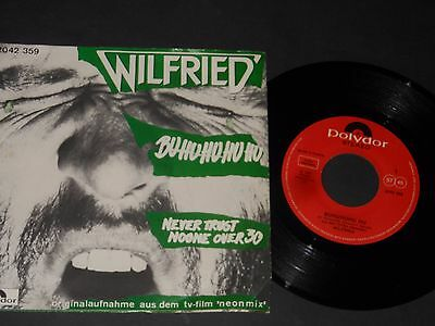 "Vinyl Single 7"" WILFRIED BUHUHUHU HU aus 1981"