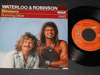 "Vinyl Single 7"" WATERLOO & ROBINSON Eleonora aus 1980"