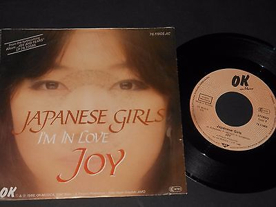 "Vinyl Single 7"" JOY Japanese Girls aus 1986"