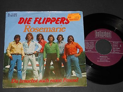 "Vinyl Single 7"" DIE FLIPPERS Rosemarie"