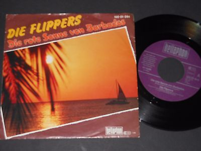 "Vinyl Single 7"" DIE FLIPPERS Die rote Sonne von Barbados"