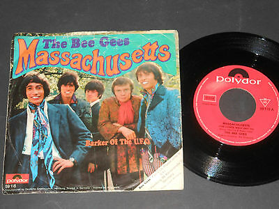 "Vinyl Single 7"" THE BEE GEES Massachusetts"